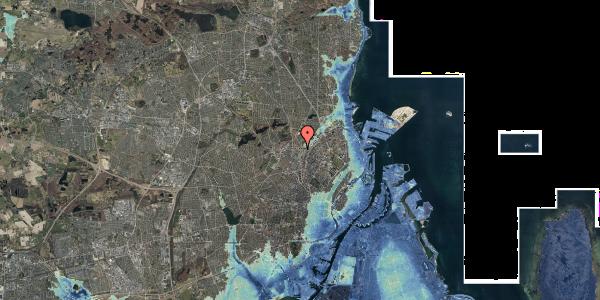 Stomflod og havvand på Bisiddervej 39, 2. tv, 2400 København NV