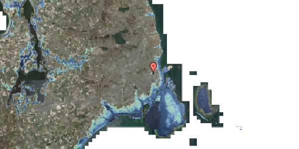 Stomflod og havvand på Bisiddervej 39, 2. th, 2400 København NV
