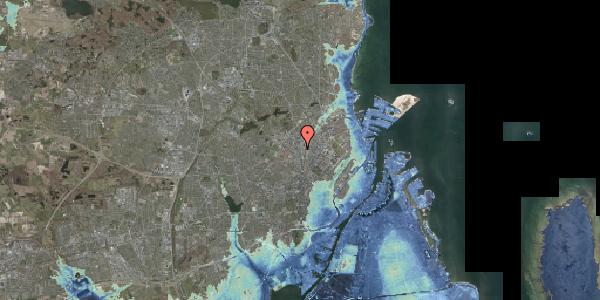 Stomflod og havvand på Frederikssundsvej 14, 2400 København NV