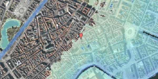 Stomflod og havvand på Valkendorfsgade 2C, 1151 København K