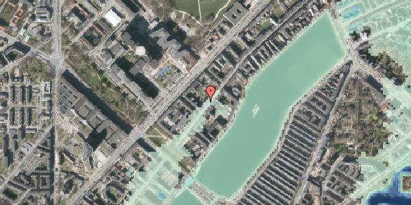 Stomflod og havvand på Ryesgade 65A, 2100 København Ø