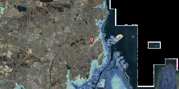 Stomflod og havvand på Bispebjerg Bakke 19, 2400 København NV