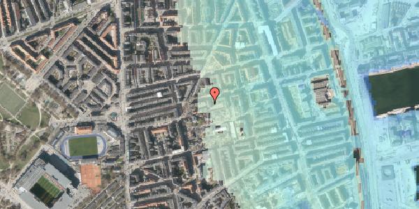 Stomflod og havvand på Viborggade 70B, 1. , 2100 København Ø