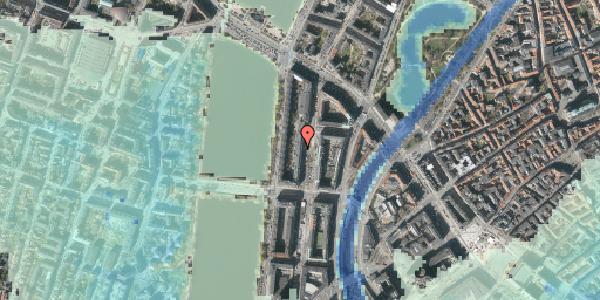 Stomflod og havvand på Nyropsgade 22, 5. , 1602 København V
