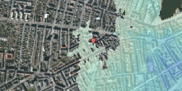 Stomflod og havvand på Boyesgade 15, 1. , 1622 København V