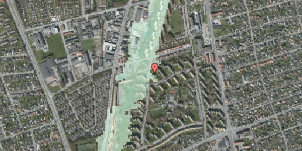 Stomflod og havvand på Berners Vænge 38A, 2650 Hvidovre