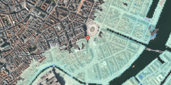 Stomflod og havvand på Kongens Nytorv 15, st. , 1050 København K