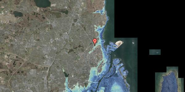Stomflod og havvand på Emdrupvej 26C, 2100 København Ø