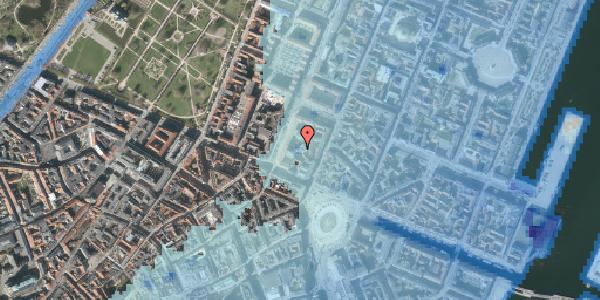 Stomflod og havvand på Gothersgade 8G, 1. , 1123 København K