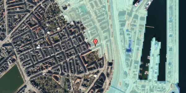 Stomflod og havvand på Classensgade 61, 5. th, 2100 København Ø