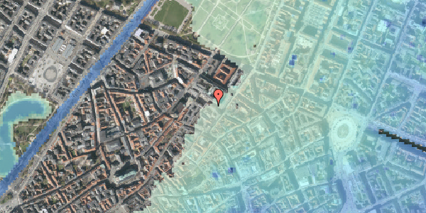 Stomflod og havvand på Pilestræde 55, st. , 1112 København K