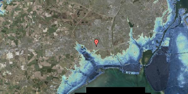 Stomflod og havvand på Jydekrogen 14A, 2625 Vallensbæk