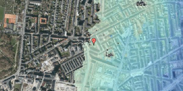Stomflod og havvand på Vesterbrogade 137D, kl. 3, 1620 København V