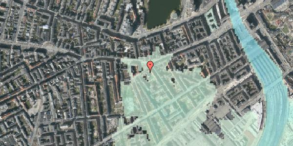 Stomflod og havvand på Vesterbrogade 49, 1620 København V