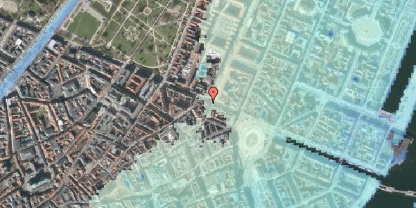 Stomflod og havvand på Gothersgade 21C, 4. tv, 1123 København K
