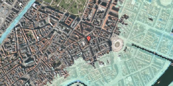 Stomflod og havvand på Gammel Mønt 3A, 3. , 1117 København K