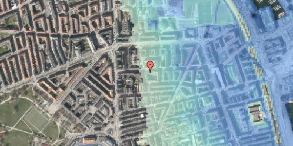 Stomflod og havvand på Vordingborggade 18, 3. , 2100 København Ø