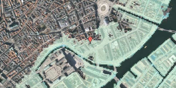 Stomflod og havvand på Laksegade 19, 1063 København K
