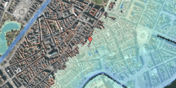 Stomflod og havvand på Valkendorfsgade 7A, st. , 1151 København K