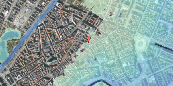 Stomflod og havvand på Klareboderne 1, 4. , 1115 København K