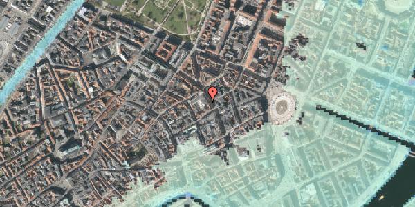 Stomflod og havvand på Gammel Mønt 3A, 4. , 1117 København K