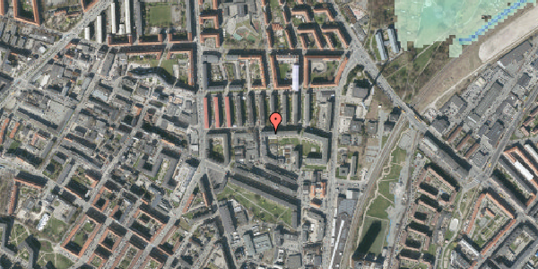 Stomflod og havvand på Bisiddervej 20, 4. tv, 2400 København NV