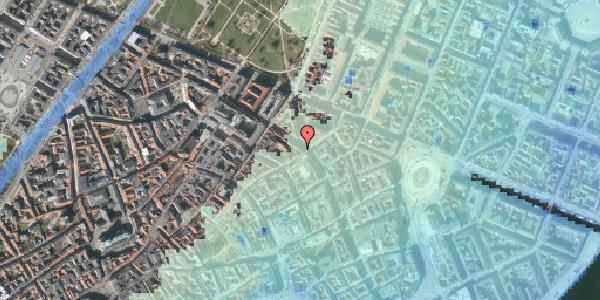 Stomflod og havvand på Gammel Mønt 19A, 4. th, 1117 København K