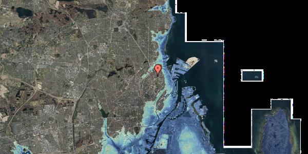 Stomflod og havvand på Lyngbyvej 18, st. th, 2100 København Ø