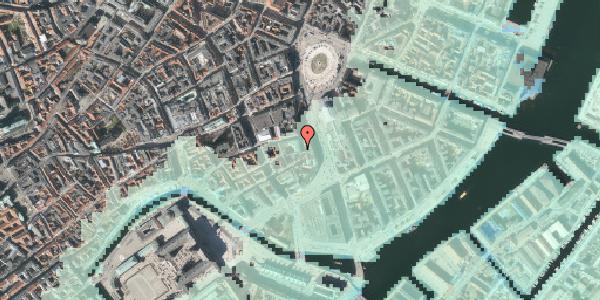 Stomflod og havvand på Laksegade 4, 1063 København K