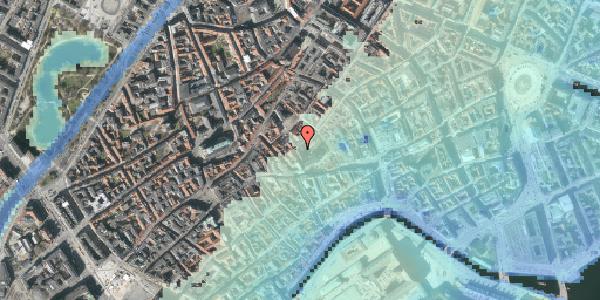 Stomflod og havvand på Valkendorfsgade 23, 1. , 1151 København K