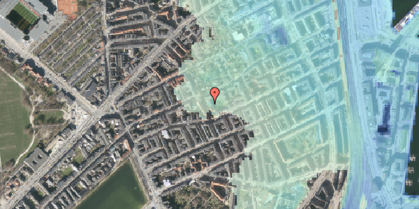 Stomflod og havvand på Saabyesvej 8, kl. 1, 2100 København Ø