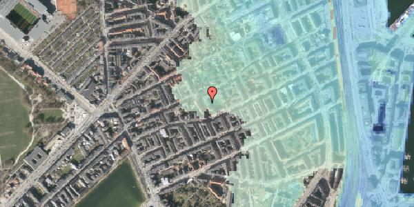 Stomflod og havvand på Saabyesvej 8, kl. 4, 2100 København Ø