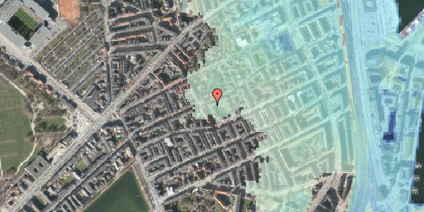 Stomflod og havvand på Saabyesvej 10, kl. 8, 2100 København Ø