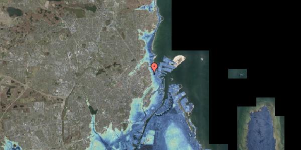 Stomflod og havvand på Vordingborggade 2B, st. , 2100 København Ø