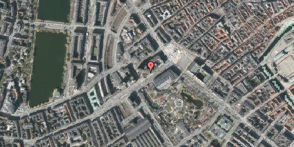 Stomflod og havvand på Axeltorv 2C, 1609 København V