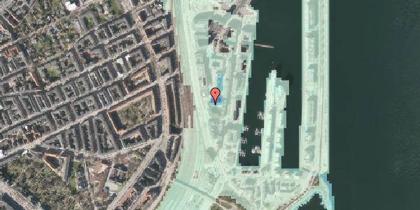 Stomflod og havvand på Amerika Plads 7, 9. , 2100 København Ø