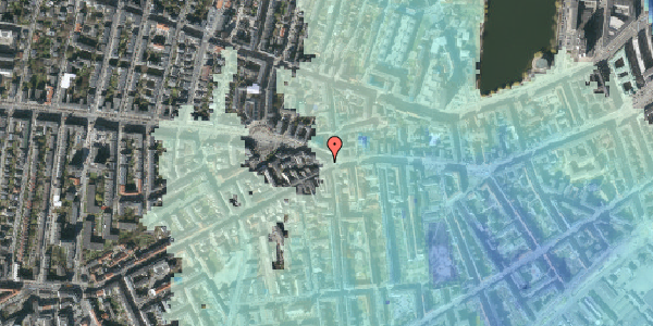 Stomflod og havvand på Vesterbrogade 84, 7. , 1620 København V