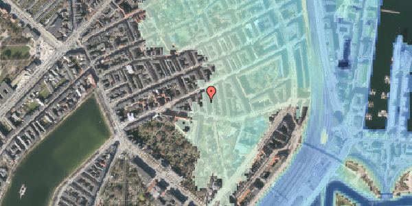 Stomflod og havvand på Lipkesgade 5B, st. tv, 2100 København Ø