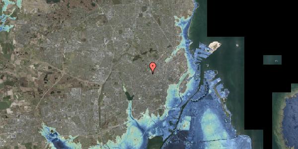 Stomflod og havvand på Rødkilde Plads 1, 2400 København NV