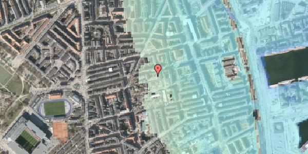 Stomflod og havvand på Viborggade 70E, 2100 København Ø