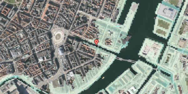 Stomflod og havvand på Nyhavn 26, st. , 1051 København K