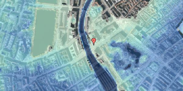 Stomflod og havvand på Vesterbrogade 6A, 3. , 1620 København V