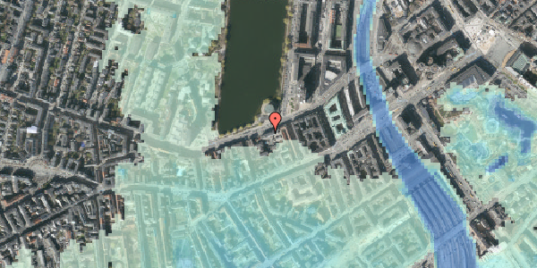 Stomflod og havvand på Gammel Kongevej 13, 2. , 1610 København V