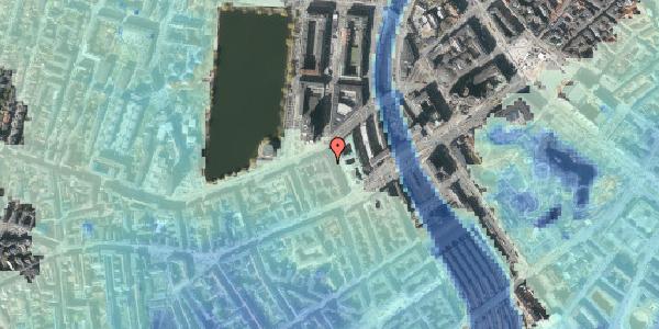 Stomflod og havvand på Trommesalen 7, 5. , 1614 København V