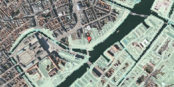 Stomflod og havvand på Niels Juels Gade 15, 1059 København K