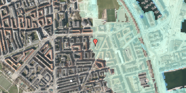 Stomflod og havvand på Svendborggade 1, 2. 209, 2100 København Ø