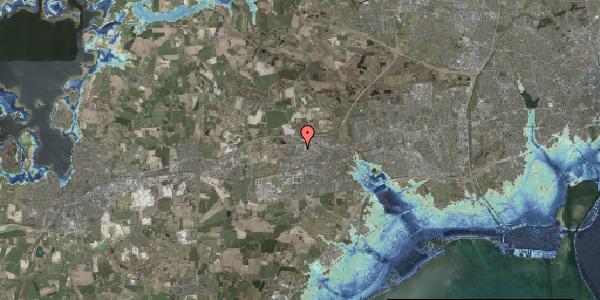 Stomflod og havvand på Helgeshøj Alle 23, 2630 Taastrup