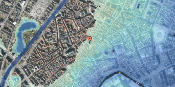 Stomflod og havvand på Kejsergade 2, st. , 1155 København K