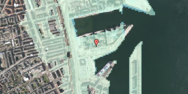 Stomflod og havvand på Marmorvej 17C, 4. th, 2100 København Ø