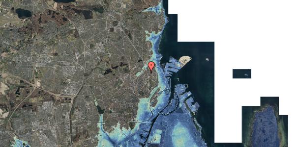 Stomflod og havvand på Lyngbyvej 34, st. , 2100 København Ø